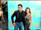 Antonio Sabato Jr and guest at the 2005 World Music Awards arrivals at the Kodak Theatre in Hollywood California on September 1 2005