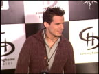 Antonio Sabato Jr at the Playboy PreGrammy Awards Party at Avalon in Hollywood California on February 7 2004