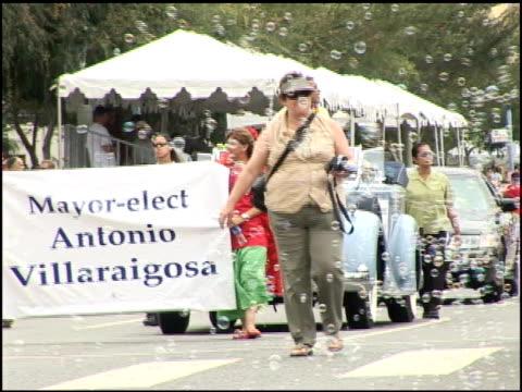 Antonio Villaraigosa at the 2005 Gay Pride Parade on June 12 2005