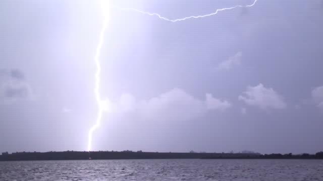 Anvil Crawler Lightning, Cloud To Cloud Lightning, Thunderstorm At Night