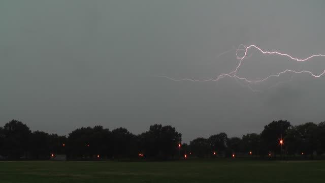 Anvil Crawler Lightning, Cloud To Cloud Lightning, Thunderstorm