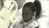 Anyah Ross talks about being hospitalized with cold and asthmalike symptoms possible because of Enterovirus 68 on Aug 29 2014 in St Louis Mo
