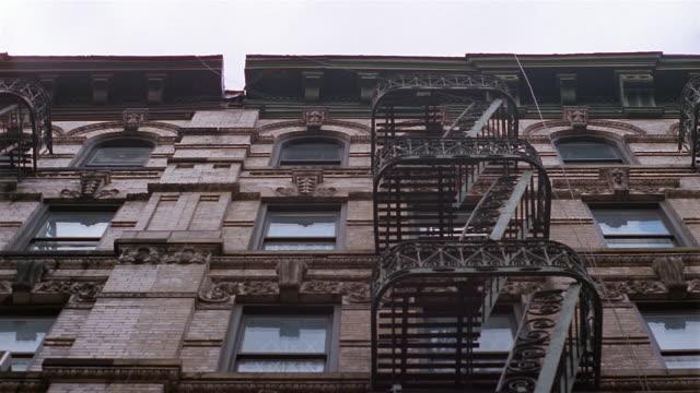 MS, LA, Apartment building, New York City, New York, USA