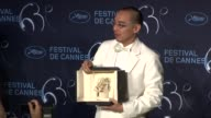 Apichatpong Weerasethakul at the Palme D'Or Press Conference Cannes Film Festival 2010 at Cannes