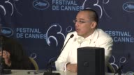 Apichatpong Weerasethakul on how so many countries funded his project on how difficult it's been to fund his cinema at the Palme D'Or Press...