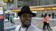 INTERVIEW apldeap talks about Fergie's status with the Black Eyed Peas while departing at LAX Airport in Los Angeles in Celebrity Sightings in Los...