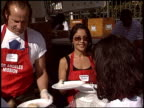 Apollonia Kotero at the Los Angeles Mission Thanksgiving on November 24 2004