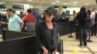 INTERVIEW Apollonia Kotero talks about her time with Prince while departing at LAX Airport in Hollywood in Celebrity Sightings in Los Angeles