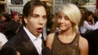 Apolo Anton Ohno and dance partner on 'Dancing with the Stars' on feeling exhausted but feeling like a winner by just making it to the finals at the...