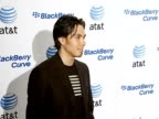 Apolo Anton Ohno at the BlackBerry Curve from ATT US Launch Party at Beverly Hills California
