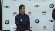 Apolo Anton Ohno at the BMW Group The United States Olympic Committee Announce New Partnership at New York NY