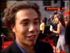 Apolo Anton Ohno at the ESPY Awards at the Kodak Theatre in Hollywood California on July 10 2002