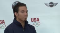 Apolo Anton Ohno on not being on the ice since Vancouver on having not made a decision on being a competing athlete but looking forward to London...