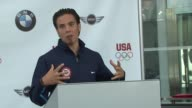 Apolo Anton Ohno on the funding and technology that will become available to athletes due to the BMW Group The United States Olympic Committee...
