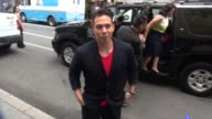 Apolo Ohno at the 'TODAY' show studio in New York NY on 7/22/13