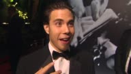 Apolo Ohno on what brings him out to the Vanity Fair Oscar party at the 2010 Vanity Fair Oscar Party Hosted By Graydon Carter at West Hollywood CA