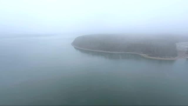 Appalachian Lake mist in Kentucky