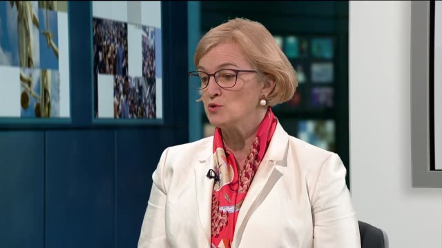 Appeal Court rules that segregation of girls and boys at Islamic school is sex discrimination ENGLAND London GIR INT Amanda Spielman STUDIO interview...