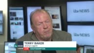 Appeal to raise money for former England footballer Jimmy Greaves ENGLAND London GIR INT Terry Baker LIVE 2WAY interview from Southampton SOT