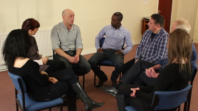 Applauding at Therapy / Counselling group