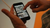 Apple iPhone 5 in Stores Map Service Shown on September 21 2012 in Washington DC