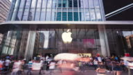 Apple Store on Nanjing East Road / Shanghai China