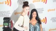 Appolonia at the 2010 Glaad Media Awards at Century City CA