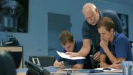 Apprentice training in a German machine factory