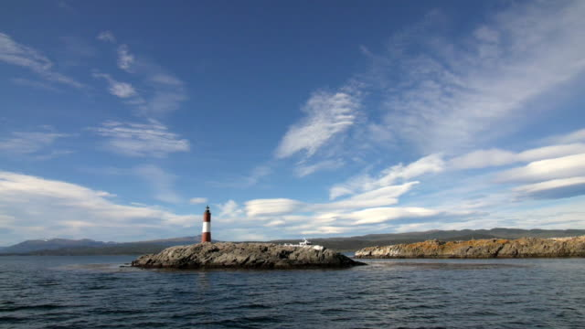 Approaching a Lighthouse in the Beagle channel