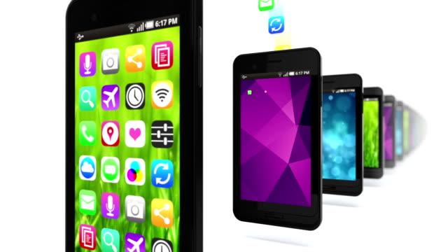 Apps fill smart phones. Loop.