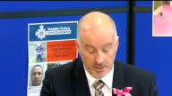 Mark Bridger arrested on suspision of murder Press conference WALES Ceredigion Aberystwyth INT Detective Superintendent Reg Bevan press conference...
