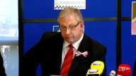 Police press conference WALES Aberystwyth PHOTOGRAPHY*** Iwan Jenkins press conference SOT Crown prosectution service has been in close contact with...