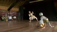 MS Apsara dancers performing monkey dance / Phnom Penh, Cambodia