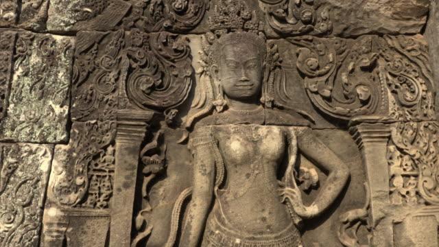 ZI / Apsara relief at Bayon temple
