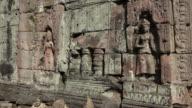 Apsara relief at Preah Khan temple