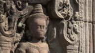 ZI / Apsara relief at Preah Khan temple
