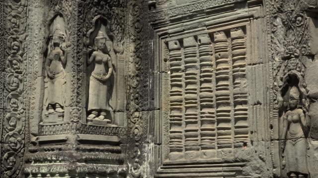 ZO / Apsara relief at Preah Khan temple