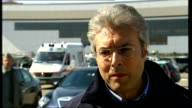 L'Aquila earthquake aftermath Gianni Chioddi interview SOT Translated