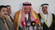 Arabic tribes calls terrorist PKK to immediate withdrawn from Sinjar in Mosul Iraq on April 26 2017