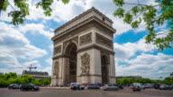 Arc de Triomphe in Paris - 4K Cityscapes, Landscapes & Establishers