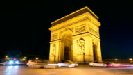 Arc de Triomphe - Stock Video