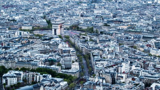 Arc de Triomphe time-lapse