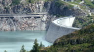 Arch Dam timelapse with zoom out camera movement
