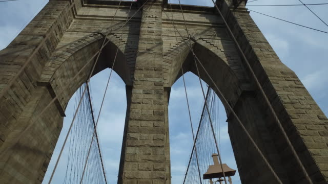 Arch gate of the Brooklyn bridge