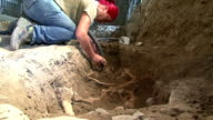 Archaeologists on Tuesday unearthed a skeleton in a rare state of preservation in Florence in what they believe may be a crucial step towards...