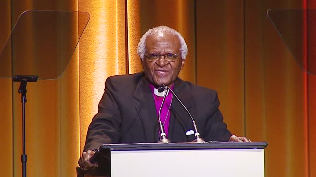 Archbishop Desmond Tutu on ANSA marching with South Africans in their struggle against Apartheid at the Archbishop Desmond Tutu Honored by Artists...