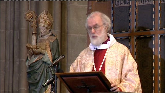 Archbishop of Canterbury Christmas Day sermon Dr Rowan Williams sermon continued SOT So what's happening here to the idea of a saviour The gospel...