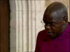 Archbishop of York vigil for kidnapped journalist Alan Johnston and victims of Virginia shooting Dr John Sentamu SOT thank you for coming lighting...