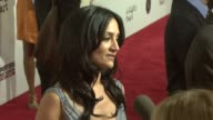 Archie Panjabi at the 'A Mighty Heart' Premiere at Ziegfeld Theatre in New York New York on June 13 2007