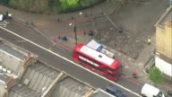 Man charged Archie Sheppard murder Man charged 2842017 Double decker bus and forensic tent in cordonedoff area